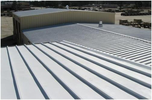 Nice Roofing System Coating On Commercial Metal Roof