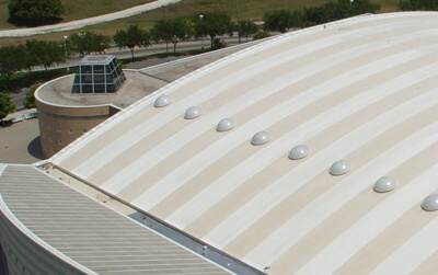 High Quality Roofing System Coating With Two Colors On Single Ply