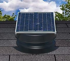 Natural Light Solar Roof and Attic Fan