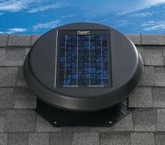 Solar Powered Attic Vent Styles & Solar Powered Roof and Attic Vent Options u003e Affordable Roofing by ...