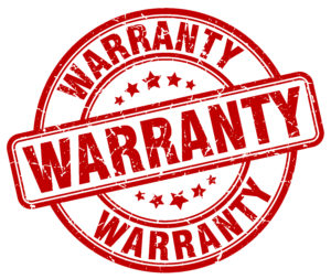 Roof Warranty Seal