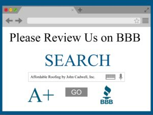 BBB review Affordable Roofing