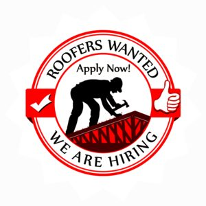 Now Hiring Roofers
