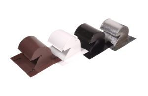Roofing gooseneck kitchen vent color options