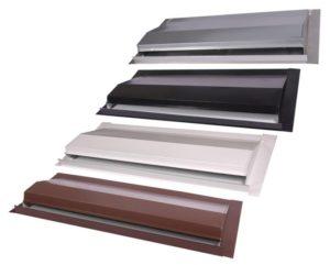 Off Ridge Roof Vent Color Options