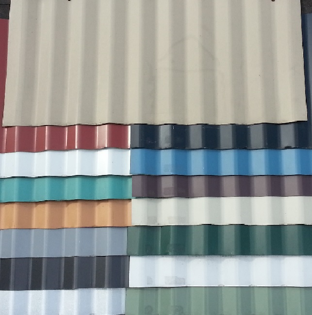 Corrugated Metal ׀ Wavy Metal Roof ׀ Metal Roof Color